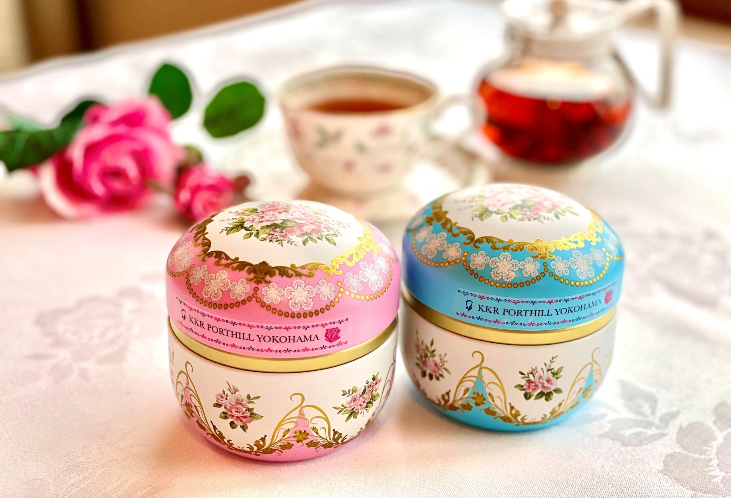 ほのかに香る薔薇の紅茶<br>「ローズティー」<br>香り高く優雅な味わい<br>「セーデルティー」