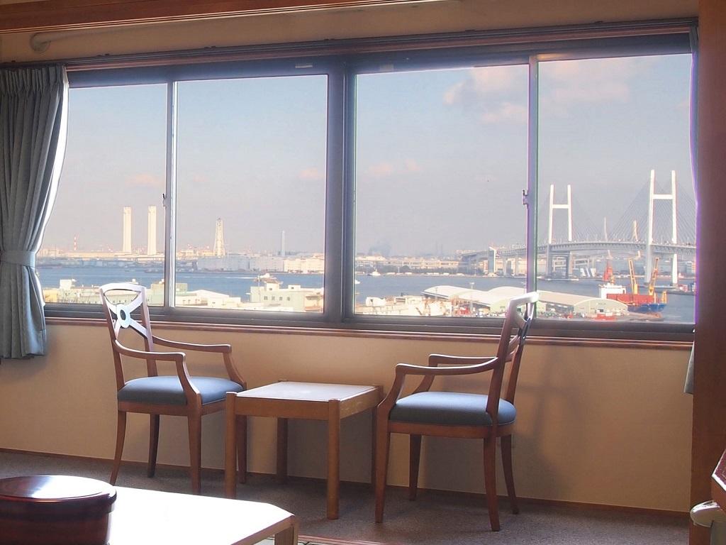 昼:海側のお部屋からの景色
