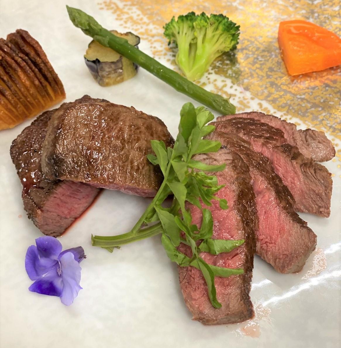 日本三大牛 近江牛のステーキ+3,000円