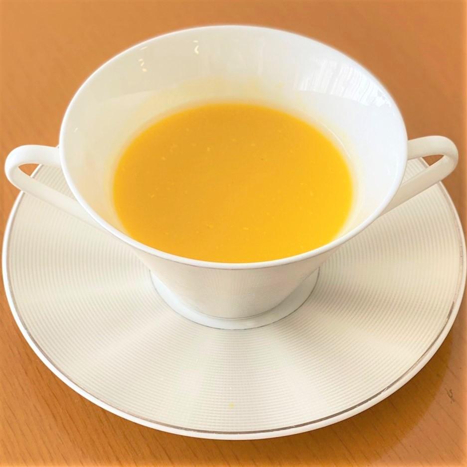神奈川県三浦産<br>かぼちゃの冷製スープ
