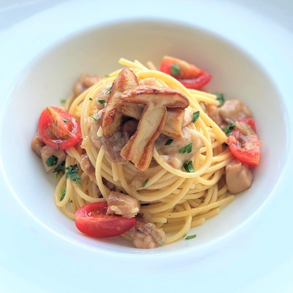 イタリア ポルチーニ茸の<br>パスタ